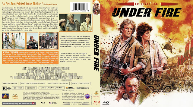 Under Fire Bluray Cover