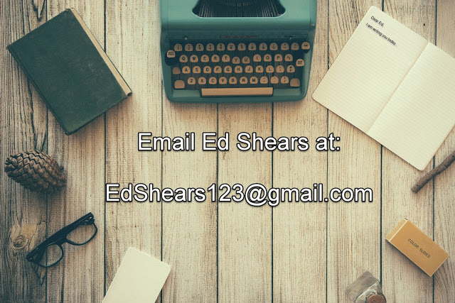 Contact information for Ed Shears
