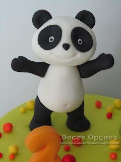 fondat panda sugar paste