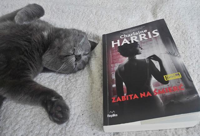 """#26 Charlaine Harris """"Zabita na śmierć"""""""