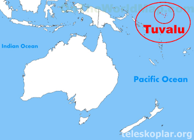 Tuvalu haritası