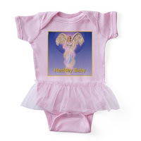 Healthy Baby Angel baby tutu bodysuit