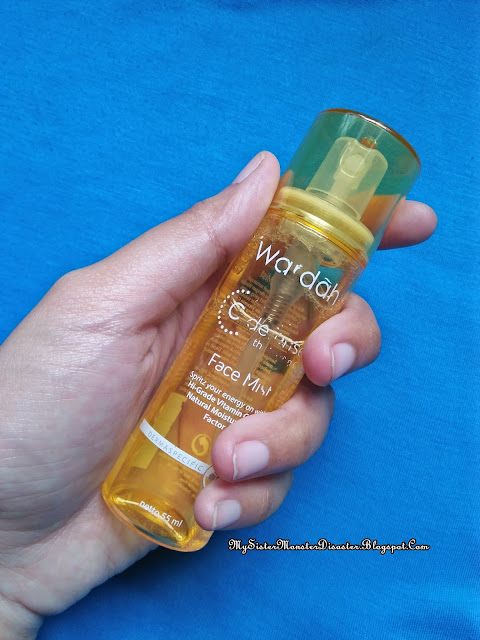 [Review] Wardah C-defense Series Face Mist
