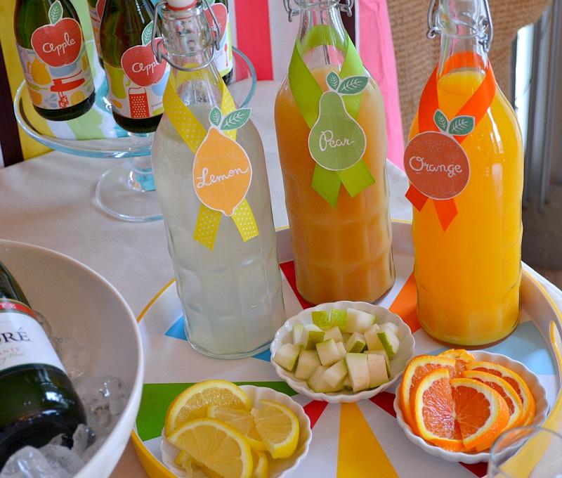 Mimosa Drink: Tikilife: Maui, Wedding Colors & Cocktails