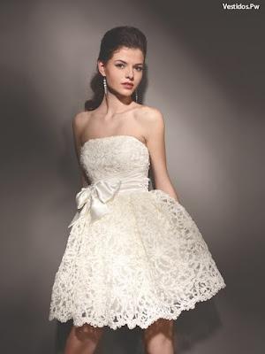 Vestidos con encaje de novia
