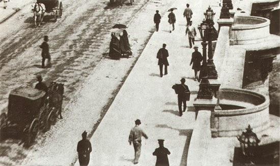 Imagen estereoscópica de Le Pont-Neuf.
