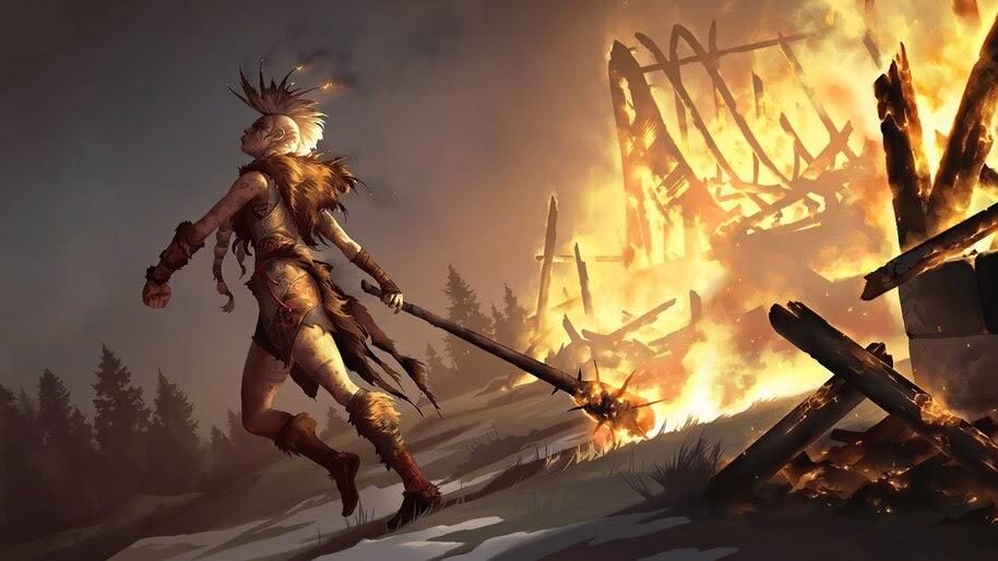 Ember Maiden, Legends of Runeterra, 4K, #7.1842