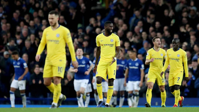 Everton s 2-0 Chelsea: Another defeat that exposes our issues with one being Maurizio Sarri.