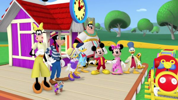 MICKEY MOUSE: Thanks for going on a trip around the Clubhouse World with us today!