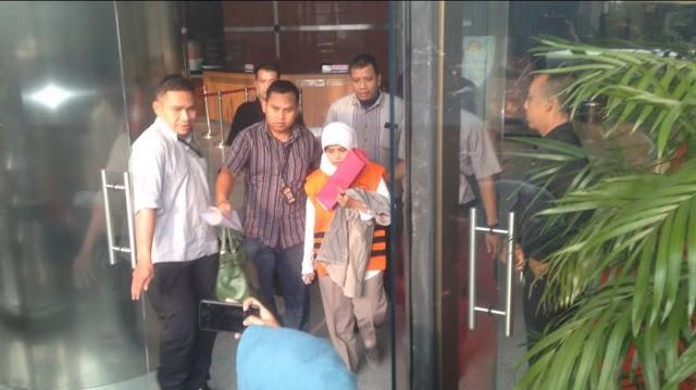 Politisi PDIP Kebumen Dijebloskan Ke Tahanan