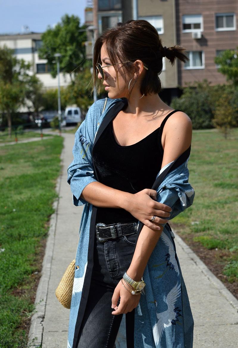 outfit how to style kimono
