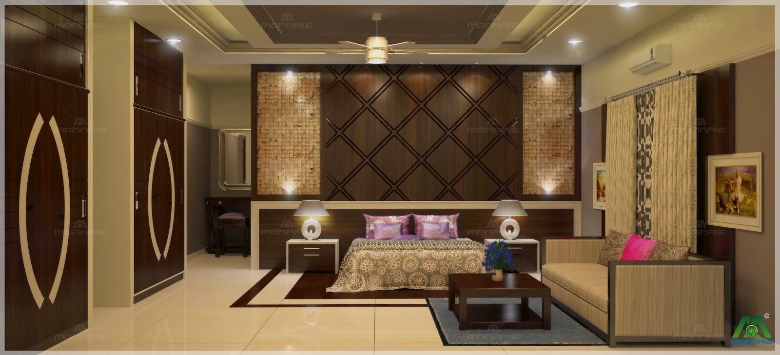 Monnaie Architects and Interiors: Best 10 Bedroom interior Designs ...
