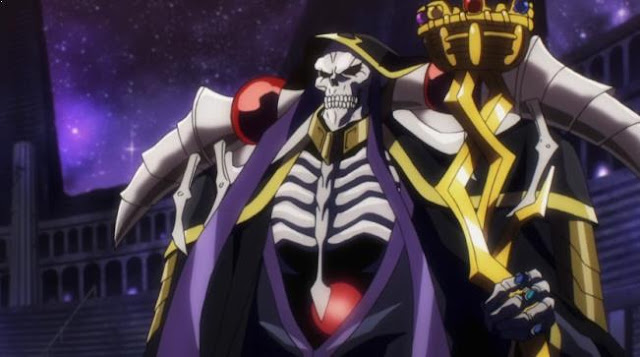 Ainz Ooal Gown [ Overlord ] - Karakter Player Anime Dalam Dunia Game Terkuat