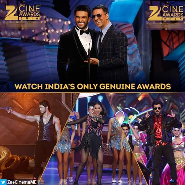 Lux Zee Cine Awards 2016 on Zee Tv Timing,Host,Winner List,Promo,Schedule