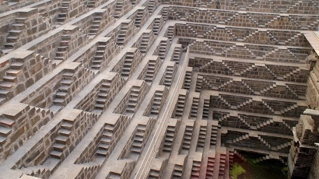 Chand Bawdi best Stepwell