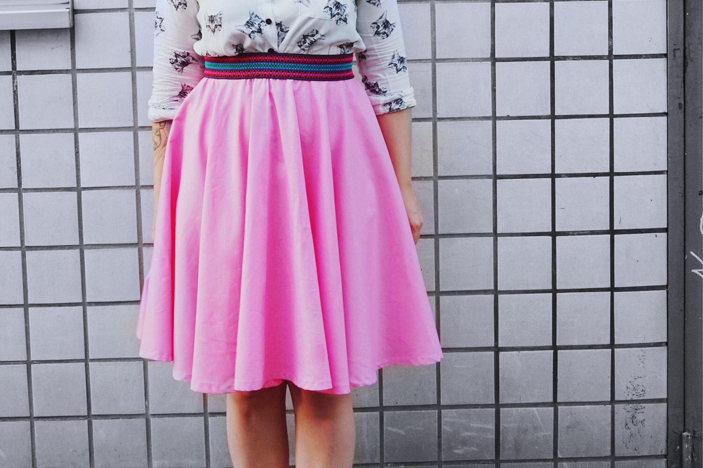 KuneCoco • Tellerrock selbst genäht • DIY your closet
