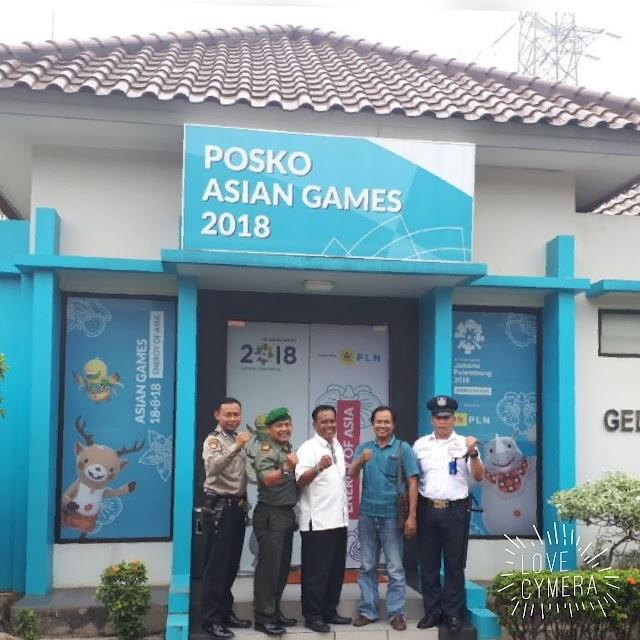 Sukseskan Asian Games, Koramil 07/Limo Amankan Pasokan Listrik PLN P3B