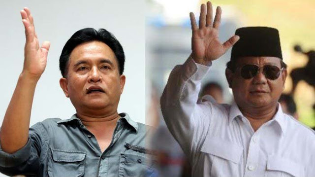 Prabowo Ngaku Dirikan PBB, Yusril: Bapak Mau Sumpah Pocong Nggak?