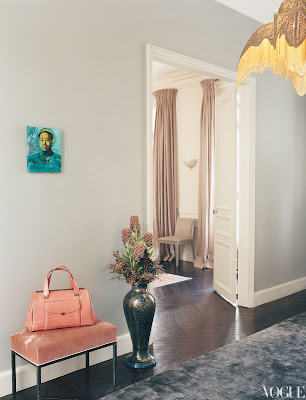 L'Wren Scott's Paris Home