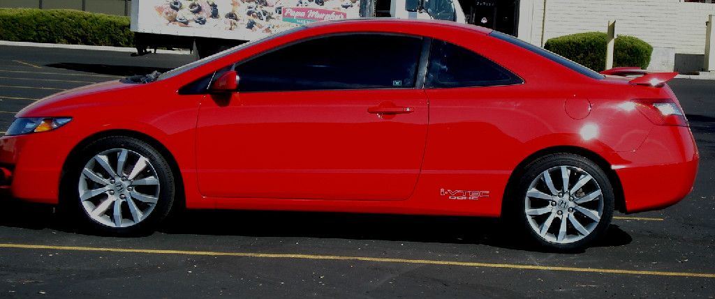 2010 honda civic coupe si bank repo 14 000 classic cars tires and auto. Black Bedroom Furniture Sets. Home Design Ideas