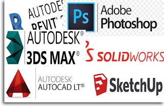 Kursus Privat Autocad 3ds max Solidworks Revit Archicad Sketchup inventor Photoshop di Bandung