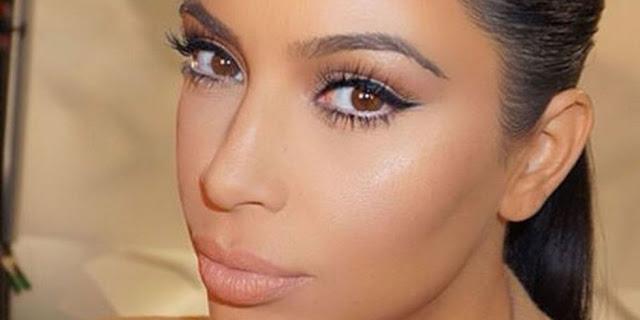 Kim Kardashian Makeup Routine,Kim Kardashian Makeup Look,How Kim Kardashian do her Makeup,Celebrity Makeup Look