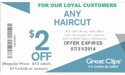 photograph relating to Printable Great Clips Coupons identify Superb clips discount coupons columbus ohio 2018 : Perfect 19 television promotions