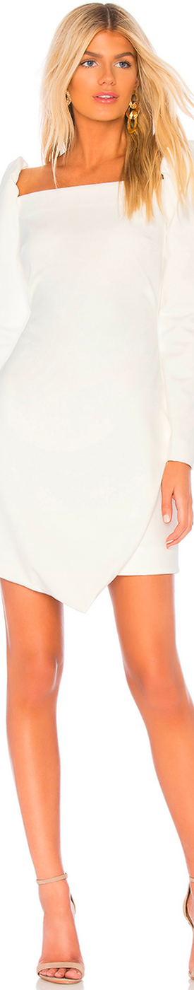ELLIATT DUKE DRESS IN WHITE
