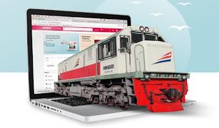 Cara pesan tiket kereta api online.