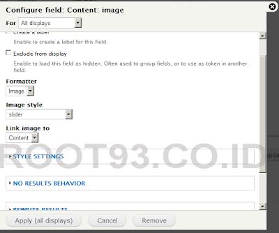 proses pembuatan slider dengan views bootstrap 5
