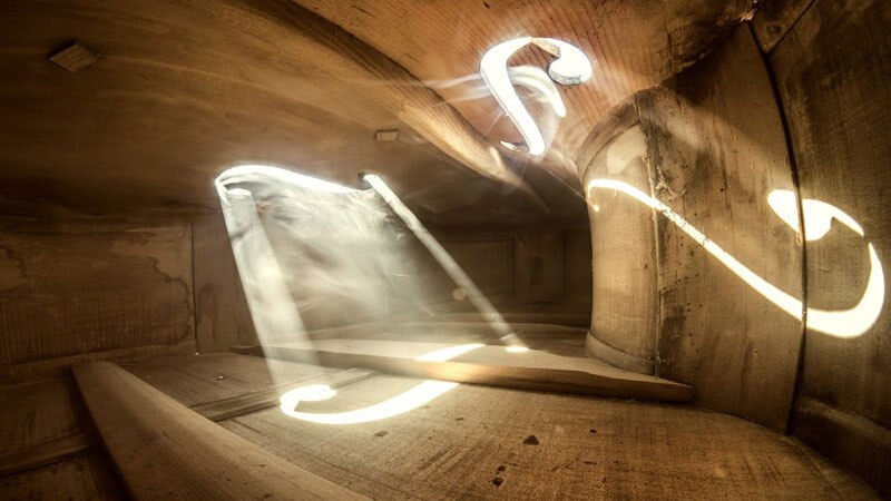 Artist Captures Stunning Pictures From The Inside Of A Cello