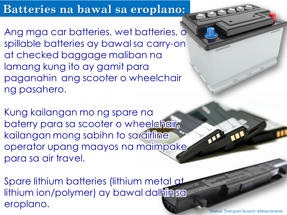 Can You Bring Batteries With You During Flight?