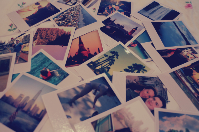 Super The Giveaway Post #3: Win a package of Retro Polaroid style Prints  OH74