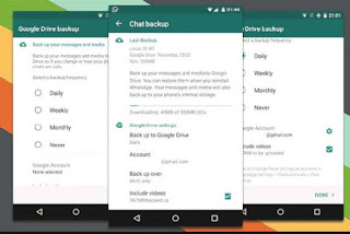 Cara Backup dan Restore Chatting WhatsApp di Android Terbaru