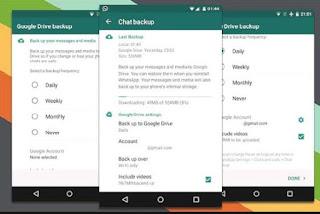Cara Backup dan Restore Chatting WhatsApp di Android Terbaru