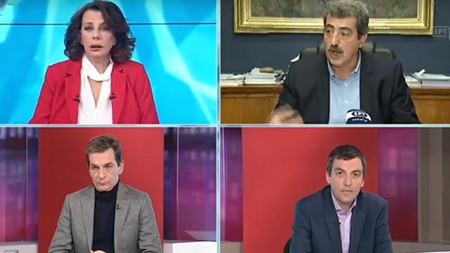 Ακριβοπούλου σε δημοσιογράφο ΕΡΤ που πήγε να ρωτήσει τον Πολάκη - «Όχι ερωτήσεις στον Υπουργό!»