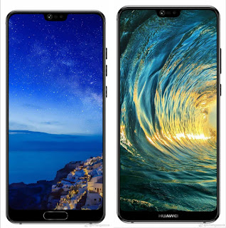 Huawei P20 and P20 Plus launched with top Notched design