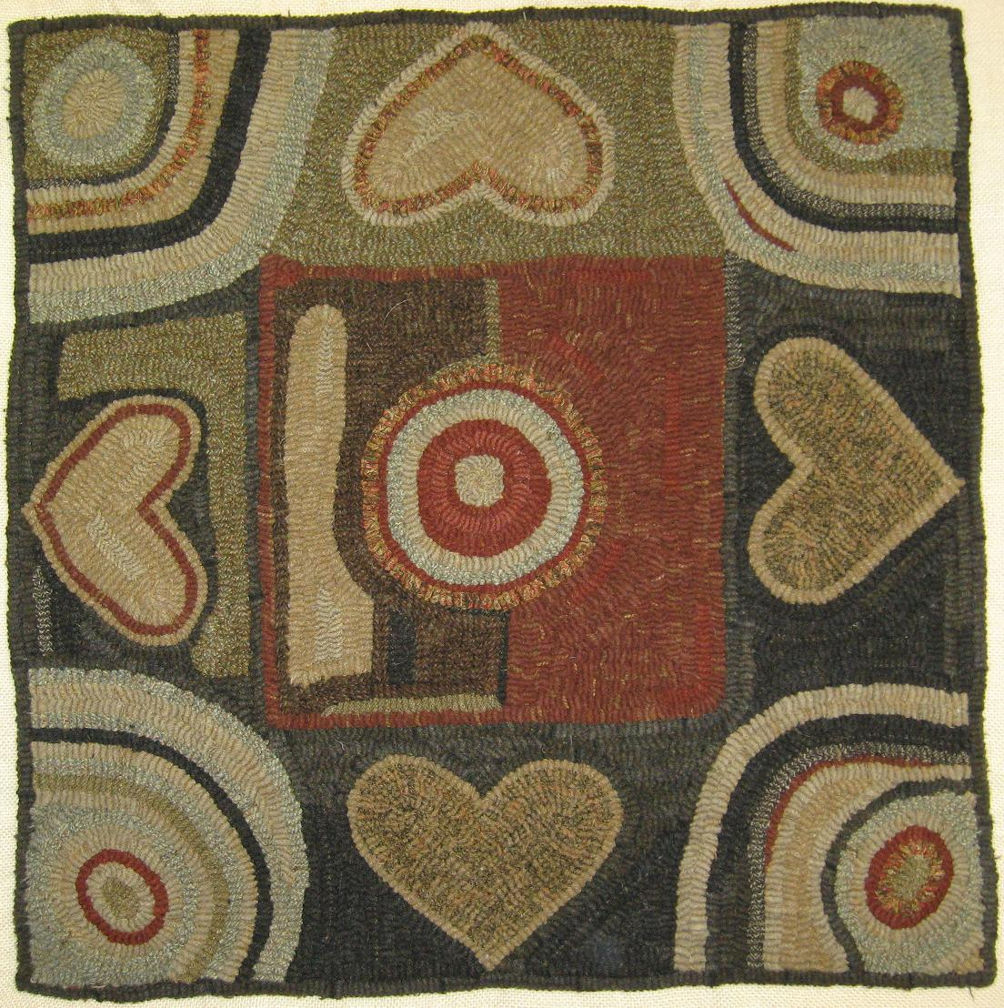 Kris Miller From Spruce Ridge Studios: Rug Of The Day (and