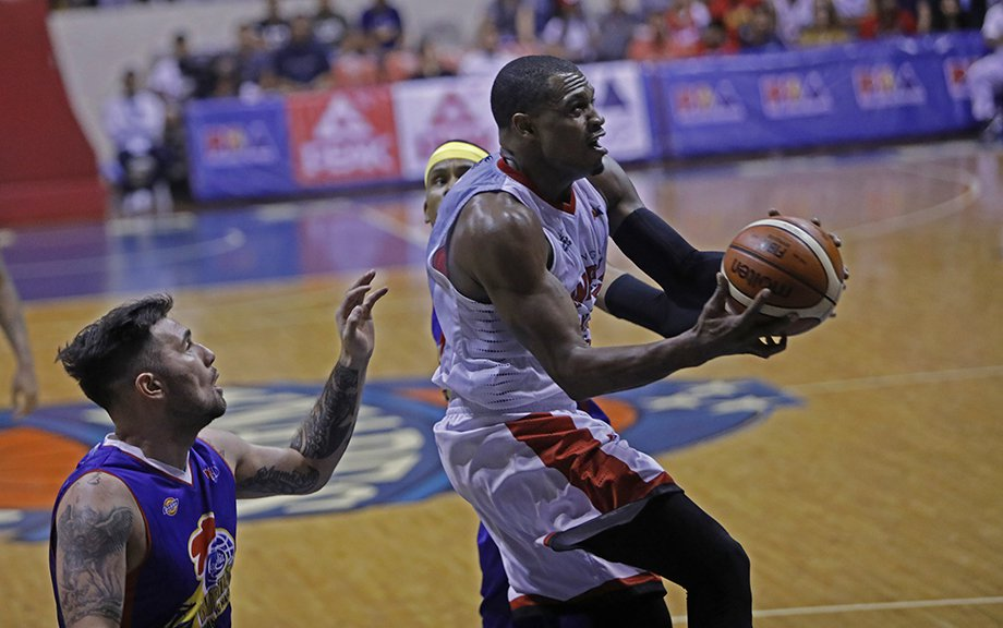 Justin Brownlee hit his PBA career high with 46 points