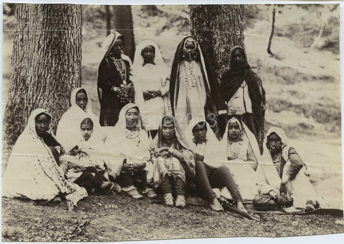 Group of Punjabi Women - Lahore, c1900's