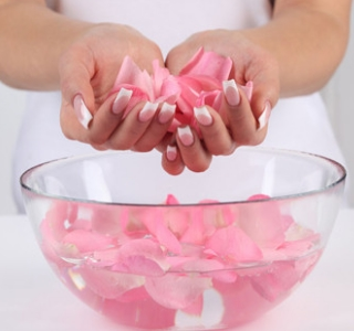 cool benefits of rose water