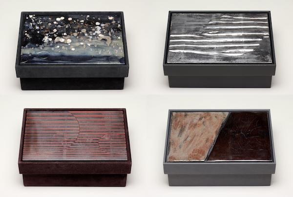 Milan Design Week 2013 - Bottega Veneta artistic boxes by Nancy Lorenz