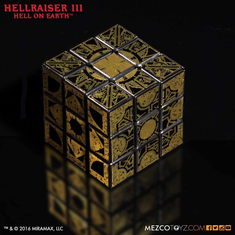 Cubo mágico com tema da caixa de LeMarchand de