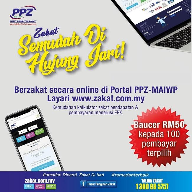 PPZ-MAIWP | MUDAH BAYAR ZAKAT MENERUSI ONLINE - IAFoodHunter