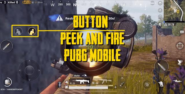 Cara Memunculkan Tombol Miring (Peek & Fire) di PUBG Mobile