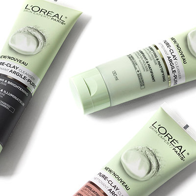 L'Oréal Pure-Clay Exfoliating & Refining Cleanser