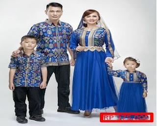 model baju batik keluarga dan anak