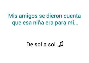 Salserín De Sol a Sol significado de la canción.