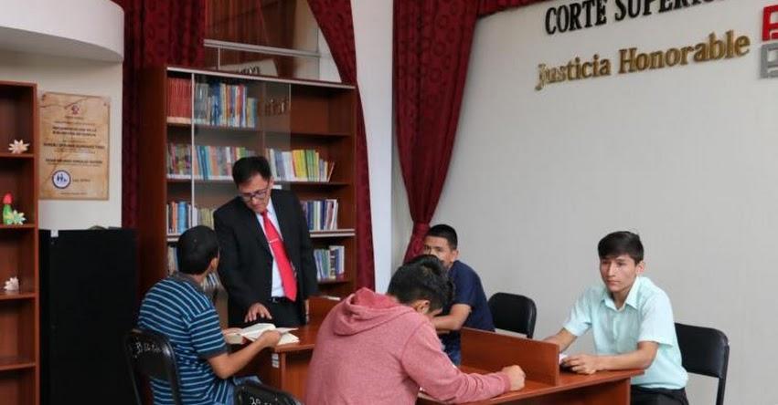 Solo el 17 % de adolescentes infractores tiene secundaria completa, informó el Ministerio de Justicia