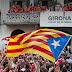 Locura en Gerona: Miles de independentistas salen a la calle a celebrar que jugarán en la liga ESPAÑOLA